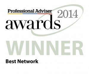 Professional Adviser Award Winner 2014 Best Network